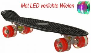2Cycle Skateboard - LED Wielen