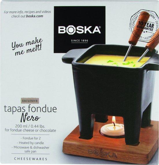 Boska Tapas Fondue Nero Fondue