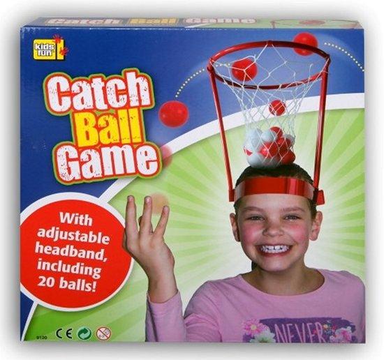 Catch Ball Game Hoofd Basket