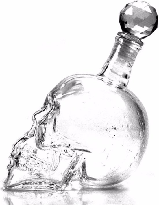 Crystal Skull Karaf Doodshoofd