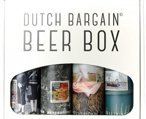 DUTCH BARGAIN BEER BOX