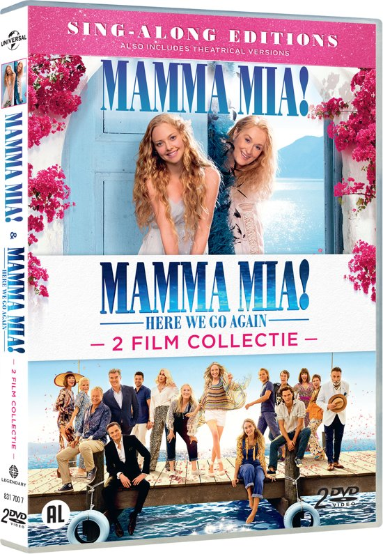 Deel 1 & 2 van Mamma Mia