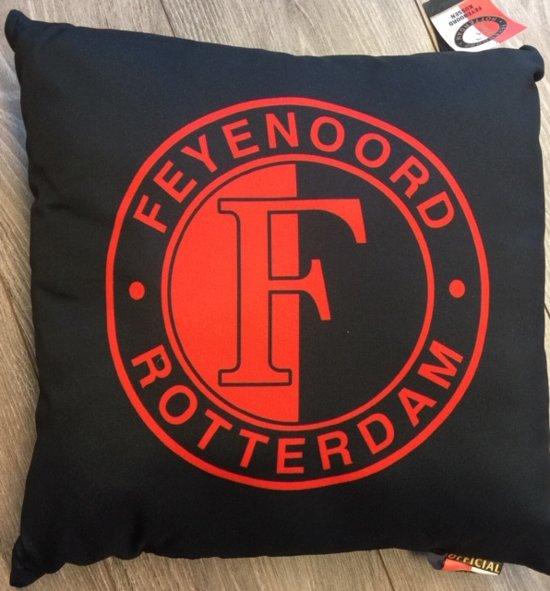 Feyenoord kussen rood zwart