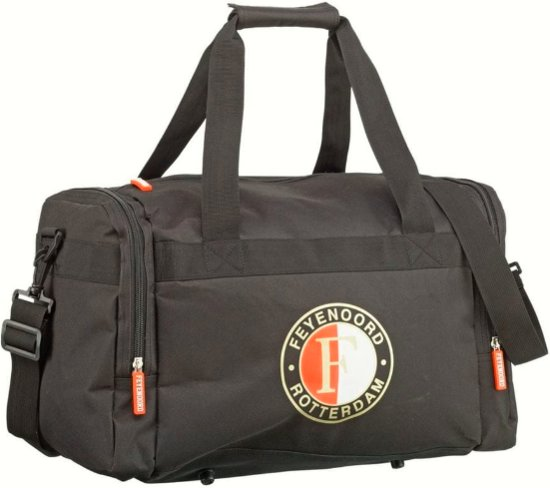 Feyenoord Sporttas zwart met logo