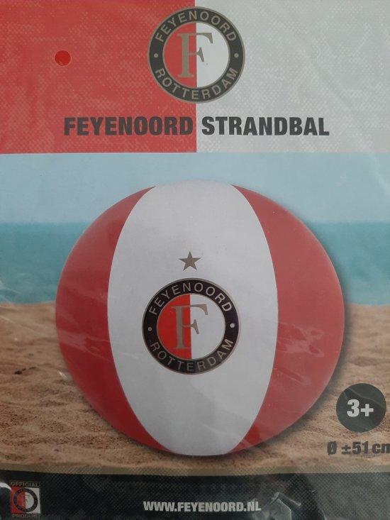 Feyenoord strandbal 51 cm