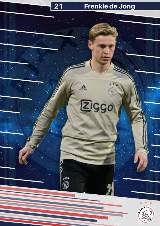 Frenkie de Jong Poster Ajax Amsterdam