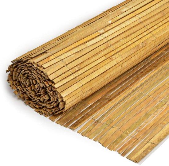 Gespleten bamboemat