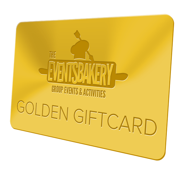 golden giftcard van de eventsbakery