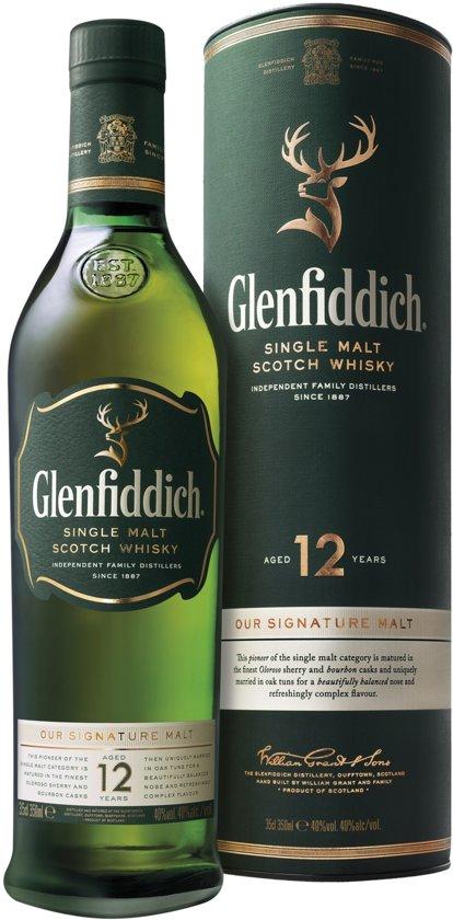 Glenfiddich 12jaar 35 cl fles groen