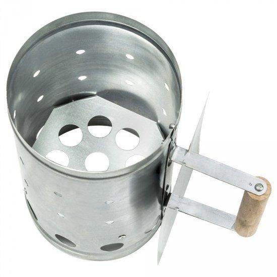 Houtskoolstarter Metaal - bbq collection