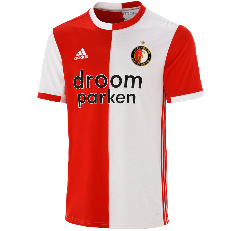 feyenoord thuis shirt 2019 rood wit