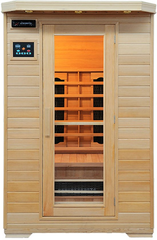 Infraroodcabine en/of sauna Ivar 2 Actiemodel