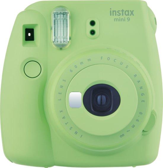 Instax mini 9 in de kleur groen