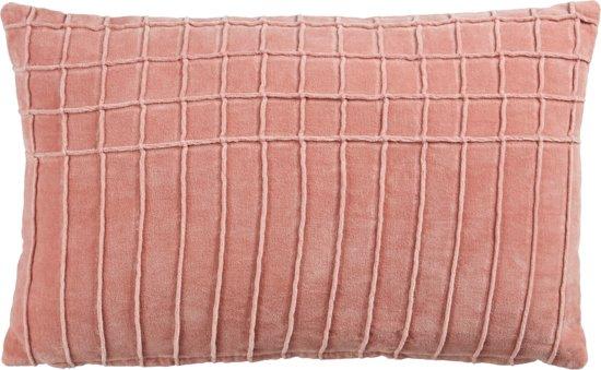 Velvet roze kussen