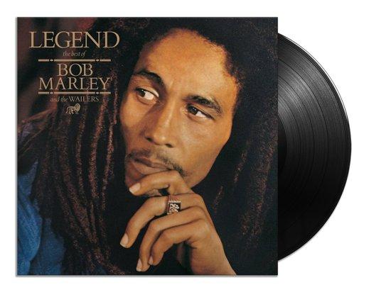 Legens LP van Bob Marley met hoofd