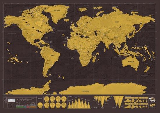 Luckies Kras Wereldkaart