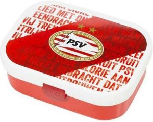 Lunchbox psv rood/wit Mepal
