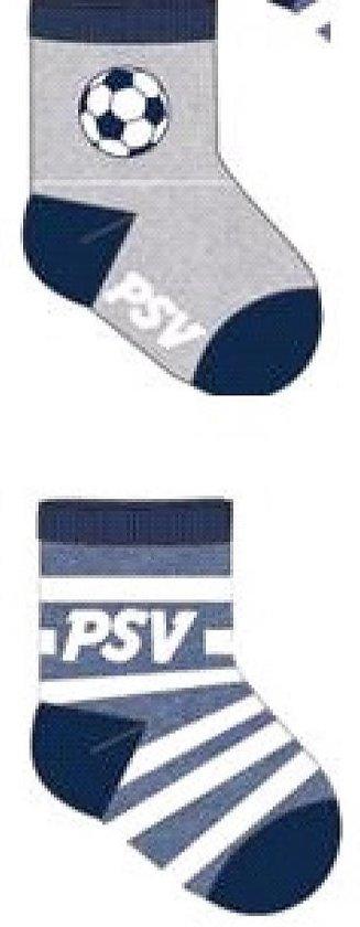 PSV sokken 6/12 maanden 2-pack