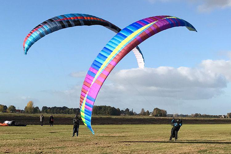 Paragliding tandemvlucht in Overijssel