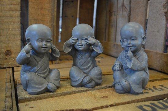 Shaolin monnikken beeldjes