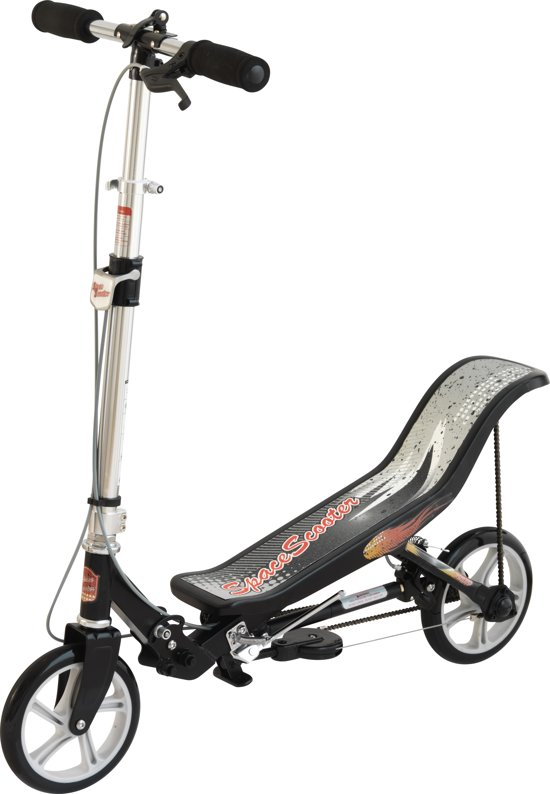 Space Scooter Zwart/Wit step