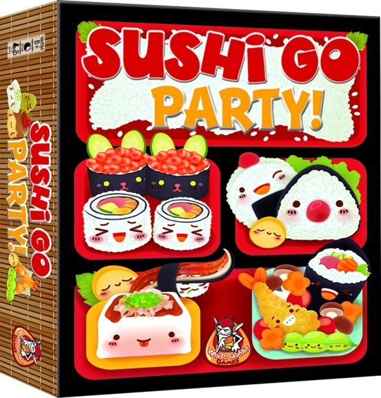 Sushi Go Party Kaartspel white goblin games
