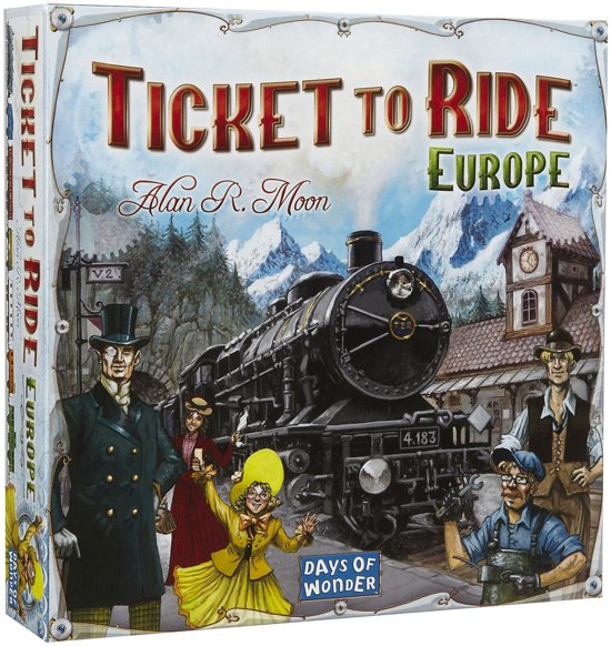 Ticket to Ride Europe - Bordspel