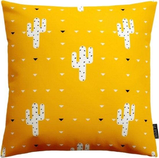 Yellow Cactus Print Kussenhoes