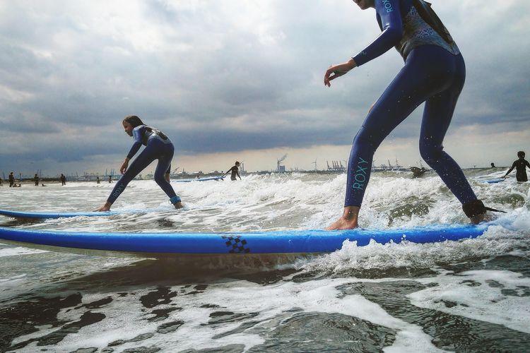 surf les van de surfschool