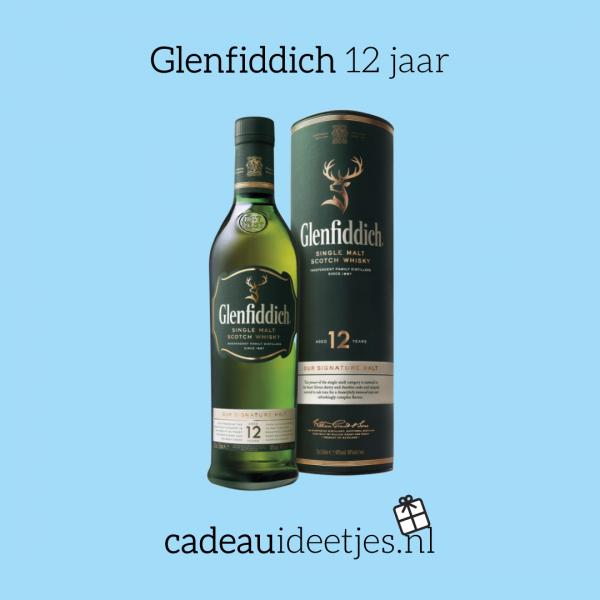 Glenfiddich whisky 12 jaar groene fles