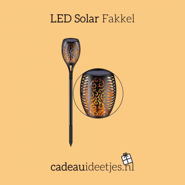 LED Solar Fakkel