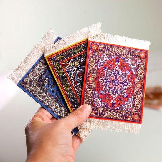 Perzisch tapijt onderzetters
