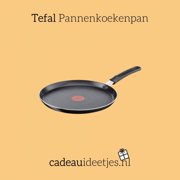 Zwarte Tefal Pannenkoekenpan