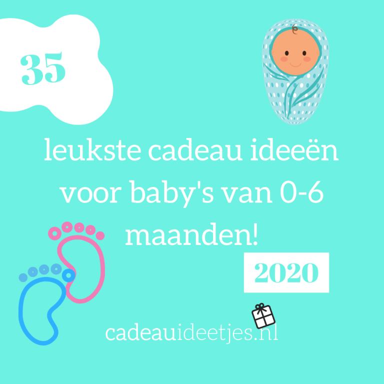 35 leukste cadeau ideeën voor baby's van 0-6 maanden