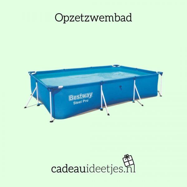 Blauw opzetzwembad van Bestway