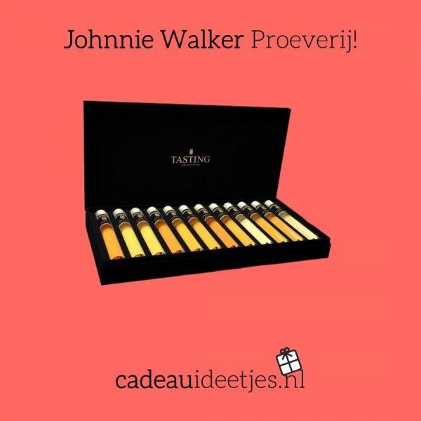 Johnnie Walker Proeverij verschillende soorten Whiskey