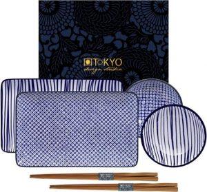 tokyo design Nippon Blue Sushi Servies