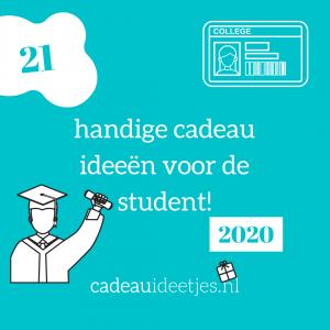 21 handige cadeau ideeën voor de student