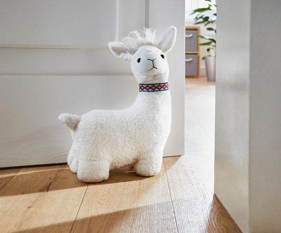 Deurstopper Alpaca wit