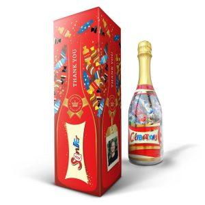 gepersonaliseerde celebrations fles