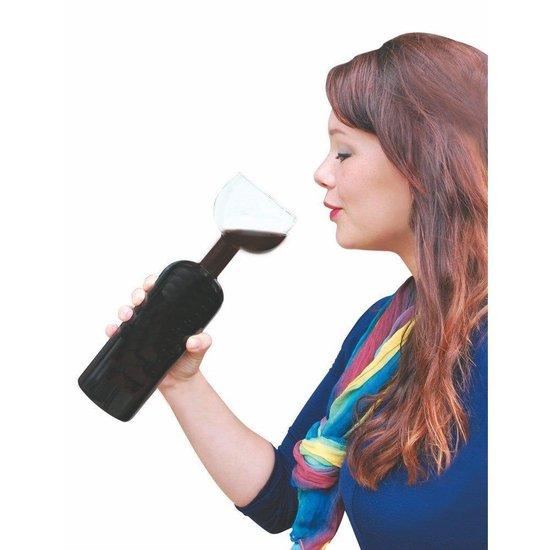 Wijnfles glas 750 ml