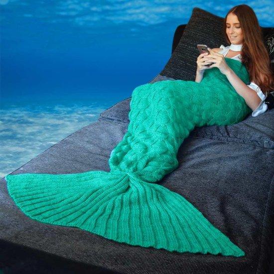 Groene Zeemeermin Deken