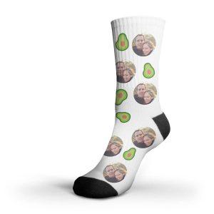 bedrukte sokken met eigen foto logo of tekst
