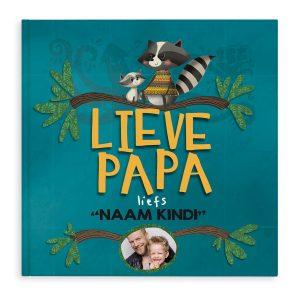 Lieve Papa boek met naam