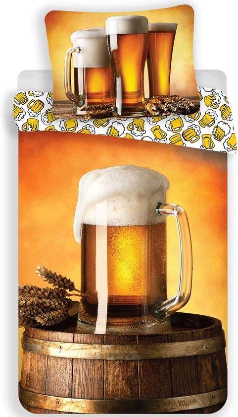 Bier Dekbedovertrek Pul Eenpersoons