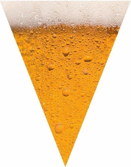 Bier print vlaggenlijn