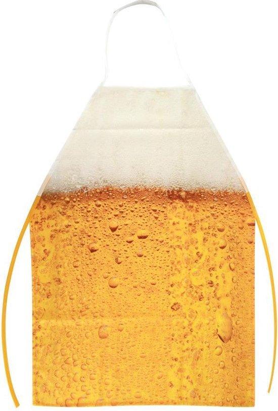 schort met bier patroon