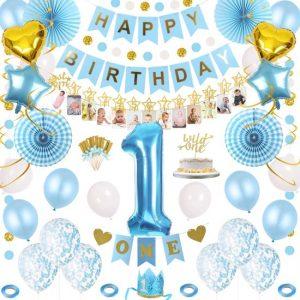 1 Jaar Jarig Verjaardag Versiering Set