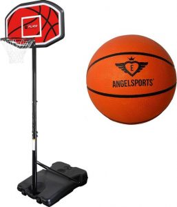 Basketbalpaal inclusief basketbal