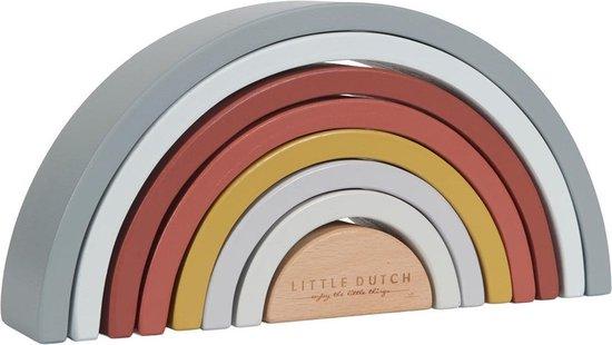 Little Dutch Houten regenboog stapelaar